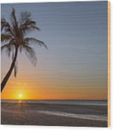 Just Another Bantayan Island Sunrise Wood Print