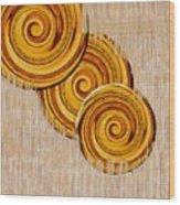 Just Bread Wood Print