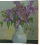Just Lilacs                 Copyrighted Wood Print
