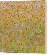 Just Wheat Wood Print