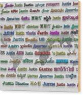 Justin Wood Print