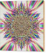 Jyoti Ahau 2374 Wood Print
