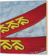 K2 Skis Wood Print