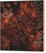 Ka-blam-oh Wood Print