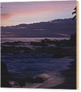 Ka Lokomaikai Paako Makena Maui Hawaii Wood Print