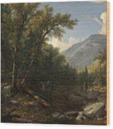 Kaaterskill Clove Wood Print