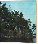 Kabetogama Shoreline Wood Print