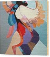 Kachina Kwahu Wood Print
