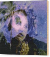 Kaei Manehu Uila Wood Print