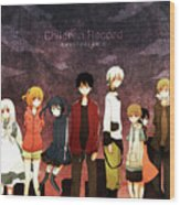 Kagerou Project Wood Print