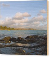 Kailua Bay Sunrise Wood Print