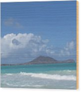 Kailua Wood Print