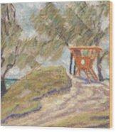 Kailua Tower 8 Wood Print