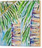 Kaimana Beach Wood Print