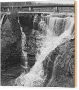 Kakabeka Falls Two Wood Print