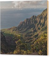 Kalalau Valley 3 Wood Print