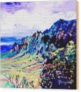 Kalalau Valley 4 Wood Print