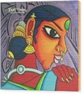 Kalavathi Wood Print