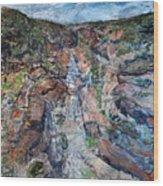 Kalbarri Gorge Wood Print
