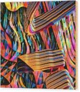 kaleido Calligraph 10x11m3n27m5aa Wood Print