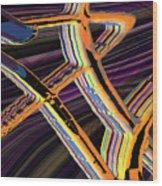 kaleido-Papillon Callg.10x11m23i Wood Print