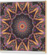 kaleido Perf10 9cAvi 44 Wood Print