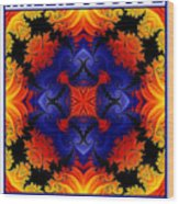 Kaleidoscope 1 Wood Print