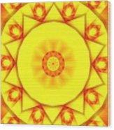 Kaleidoscope 100 Wood Print