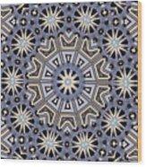Kaleidoscope 104 Wood Print