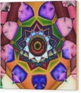 Kaleidoscope 120 Wood Print
