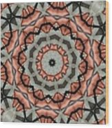 Kaleidoscope 127 Wood Print