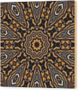 Kaleidoscope 25 Wood Print