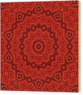 Kaleidoscope 3200 Wood Print