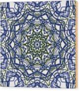 Kaleidoscope 706 Wood Print