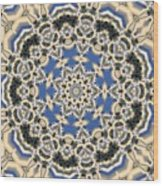 Kaleidoscope 77 Wood Print
