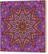 Kaleidoscope 816 Wood Print