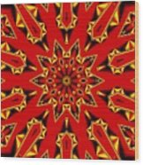 Kaleidoscope 89 Wood Print