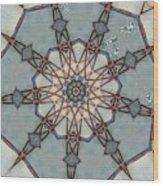 Kaleidoscope 92 Wood Print