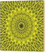 Kaleidoscope 957 Wood Print