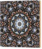 Kaleidoscope 99 Wood Print