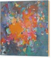 Kaleidoscope Of Colour Wood Print
