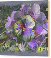 Kaleidoscope Pollen Wood Print