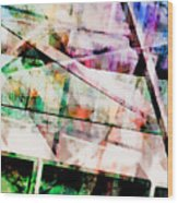 Kaleidoscope Vision Wood Print