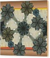 Kaleidoscopeflowers Wood Print