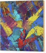 Kaleidoscopic Wood Print