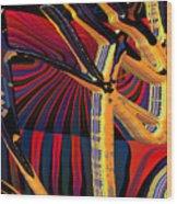 Kali-fa-callig10x11m8 Wood Print