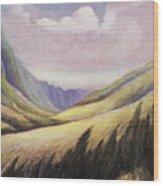 Kalihi Valley Art Wood Print
