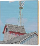 Kalona Barn Wood Print