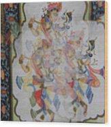 Kama Sutra Thrice Wood Print