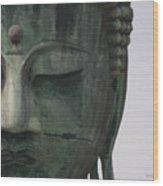 Kamakura Buddha Wood Print